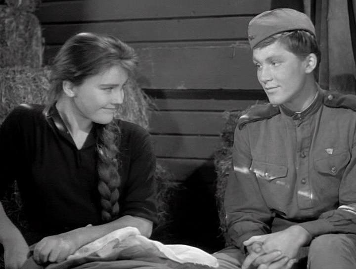 Жанна Прохоренко и Владимир Ивашов (кадр из кинофильма)