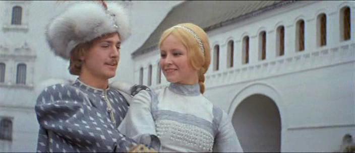 Владимир Вихров (Королевич Елисей) и Любовь Чиркова (Царевна)