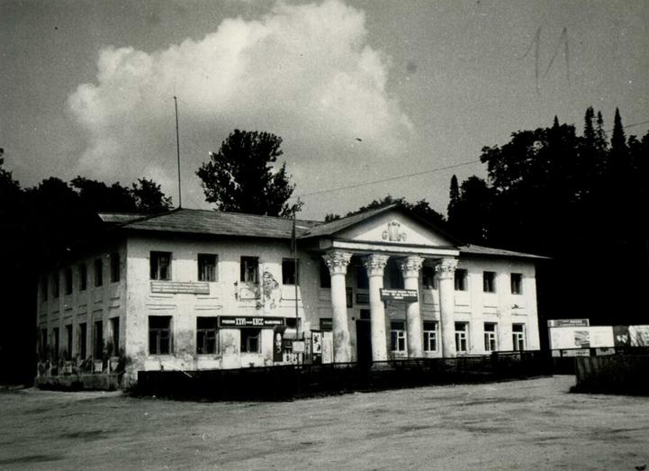 Главный усадебный дом в Воспушке. Фото 1980-х гг.